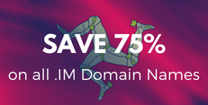 75% OFF .IM Domain Names